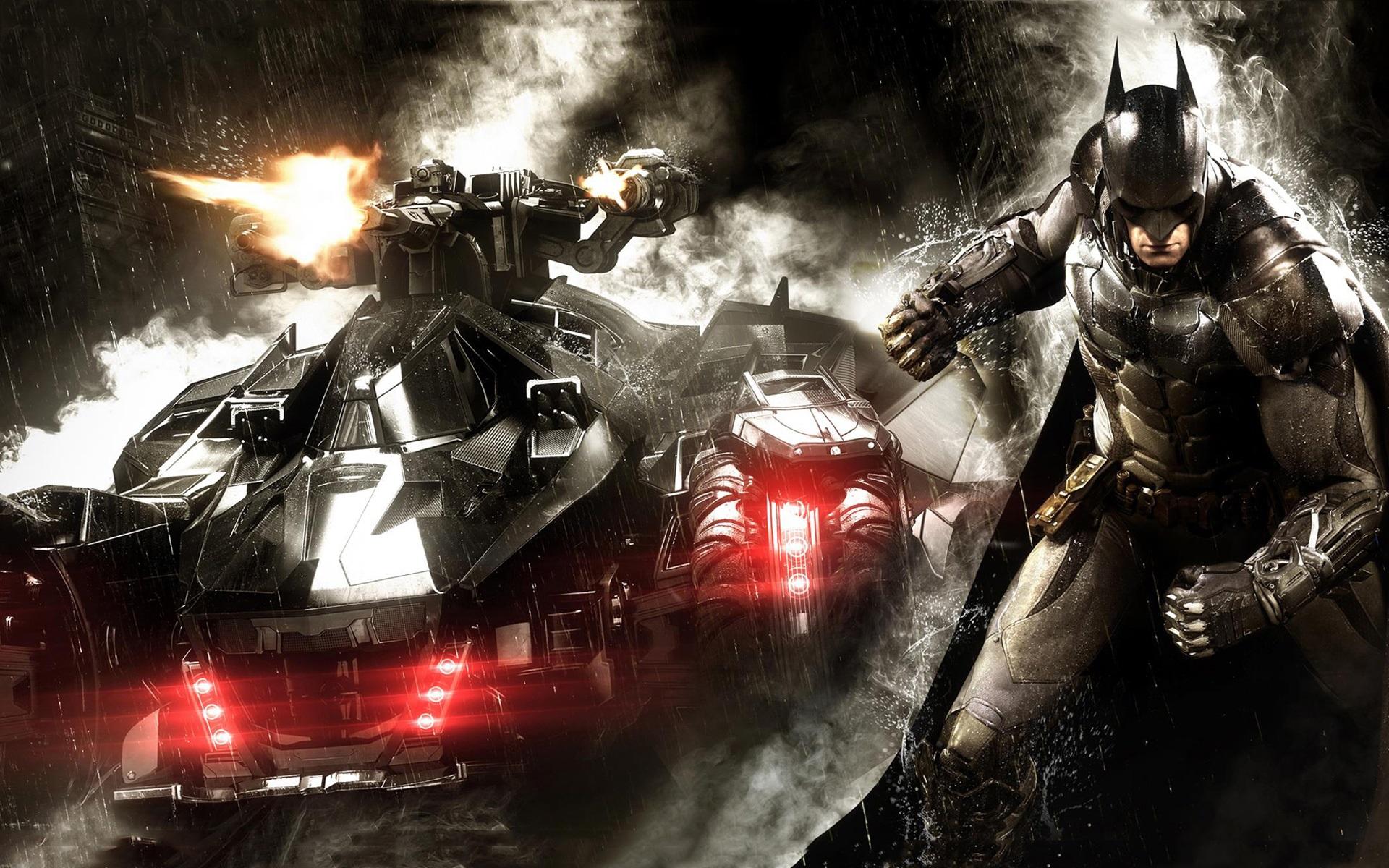 Wallpaper Batman Arkham Knight Chariot 1920x1200 Hd