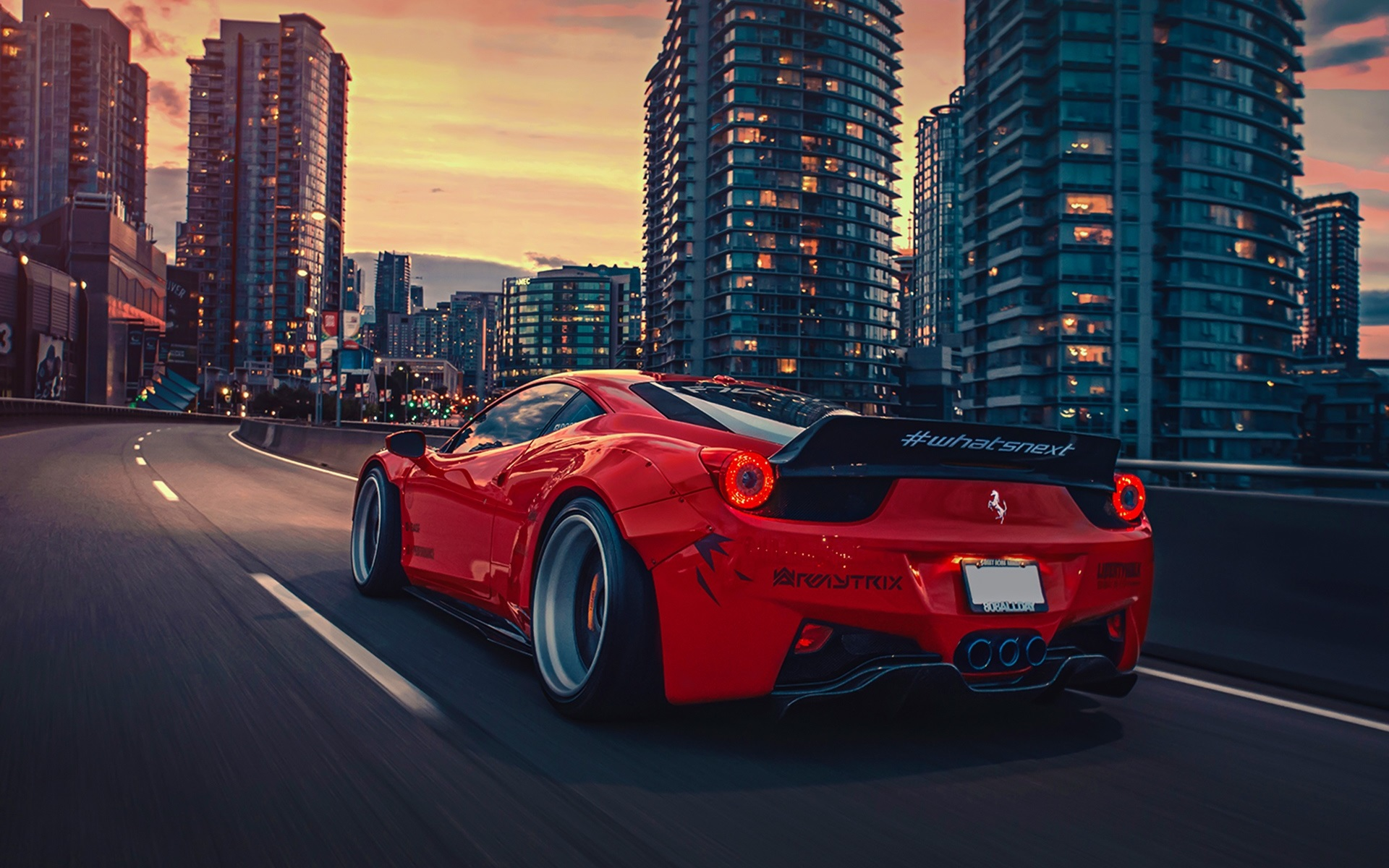 Get Ferrari 458 Rear Wallpaper  Gif