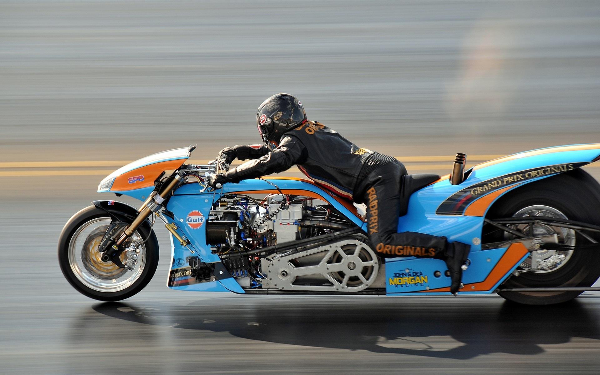 Wallpaper motorcycle speed drag racing 1920x1200 hd - Drag race wallpaper ...