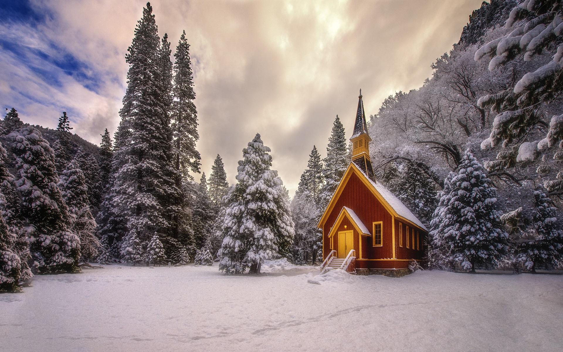Wallpapers Montañas Nevadas: Fondos De Pantalla Invierno, árboles, Montañas, Nieve