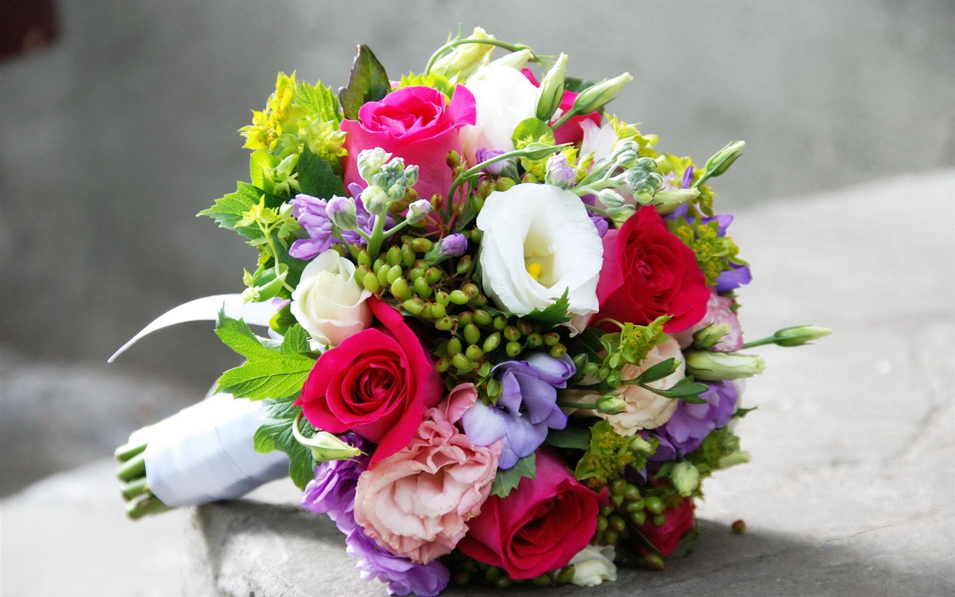 Цветы букеты свадебные