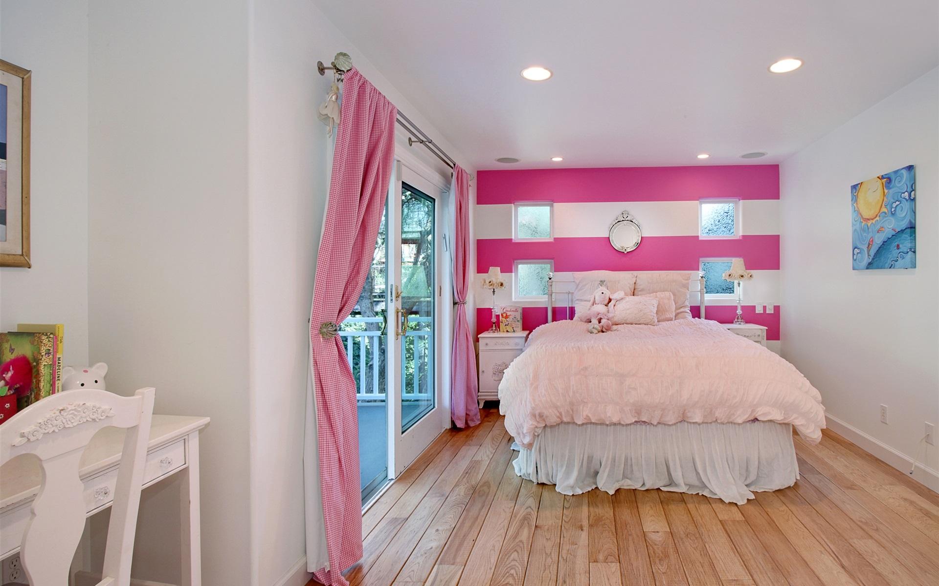 Download wallpaper 1920x1200 interior design bedroom bed for Interior design bedroom hd