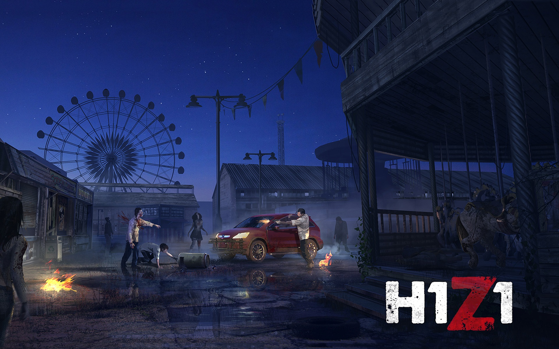 Wallpaper H1Z1 PC game 1920x1200 HD Picture, Image