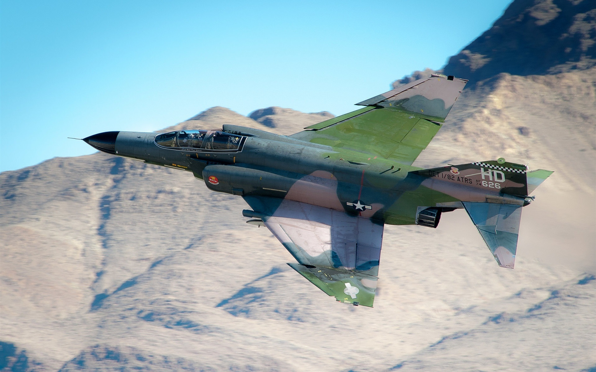 Wallpaper F 4 Phantom Ii Multipurpose Fighter 1920x1200 Hd Picture