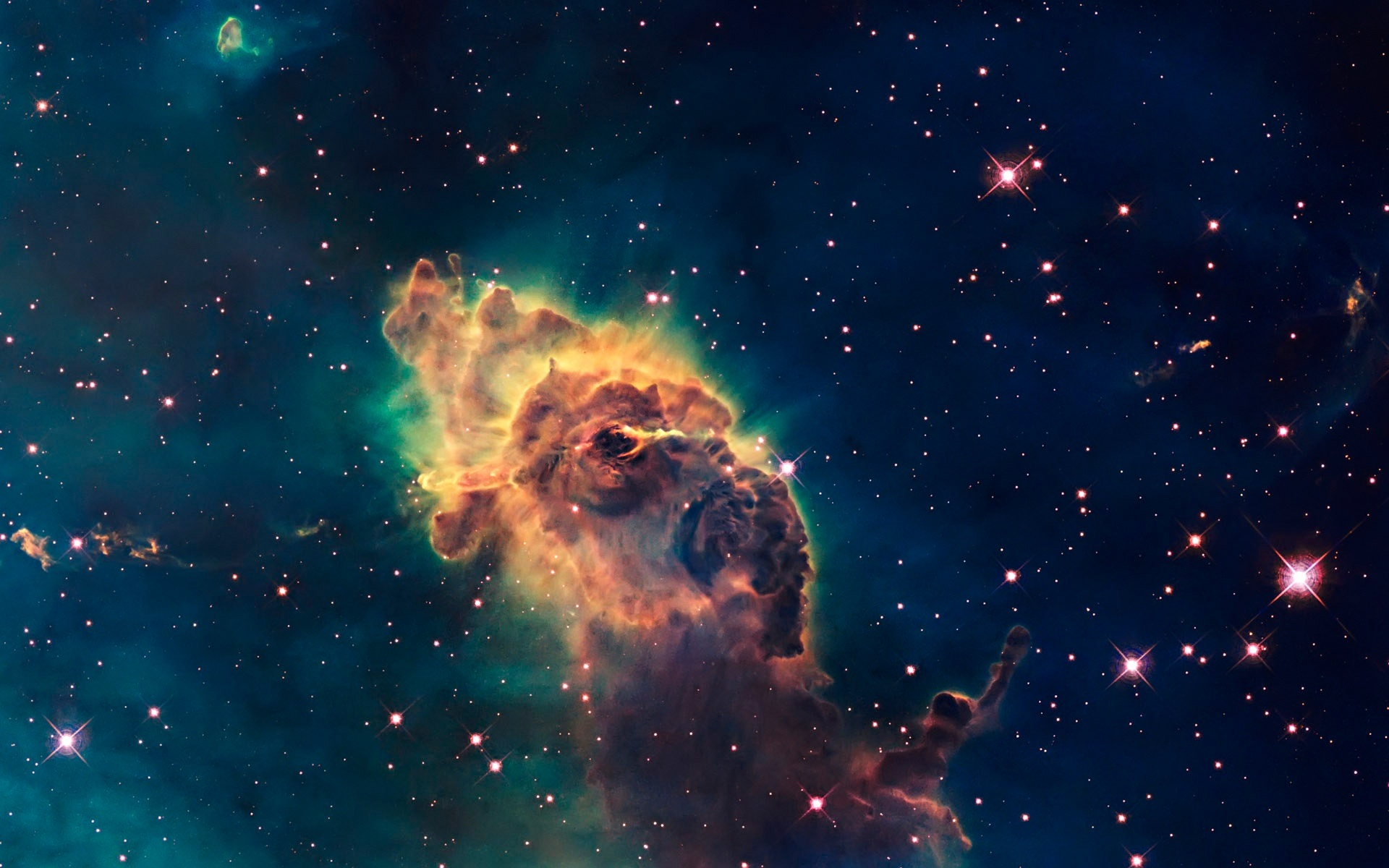 Hubble Teleskop Universum Sterne Nebel 1920x1200 Hd