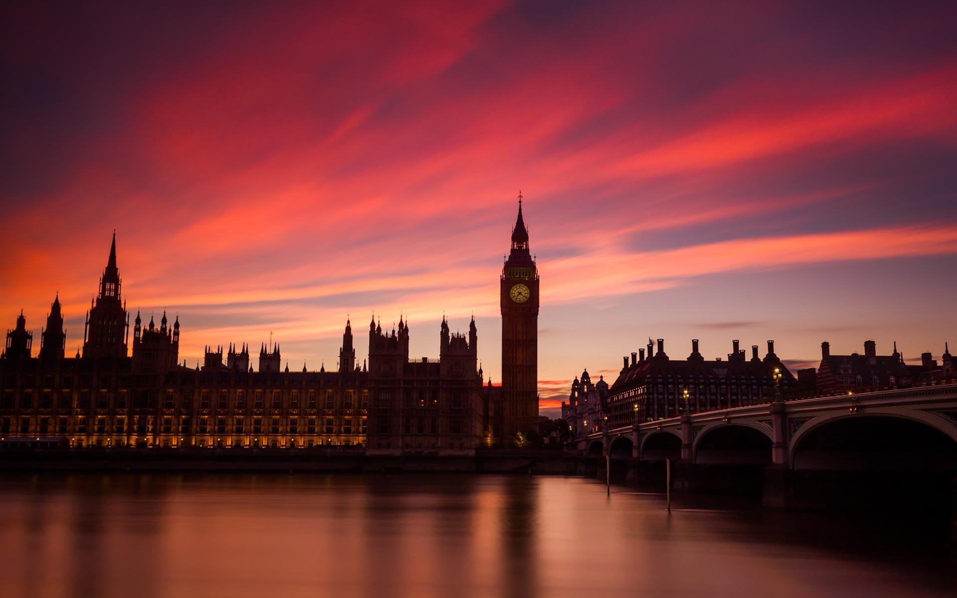 Обои london, Sunset. Города foto 12