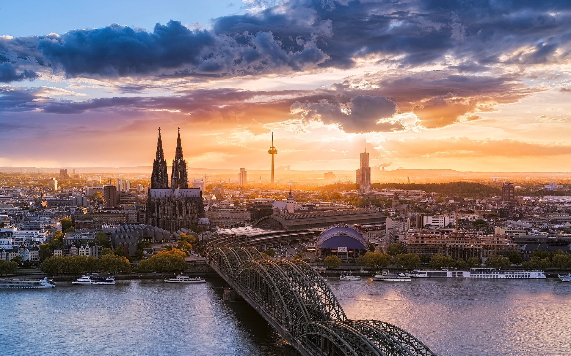 Обои красиво, германия. Города foto 10
