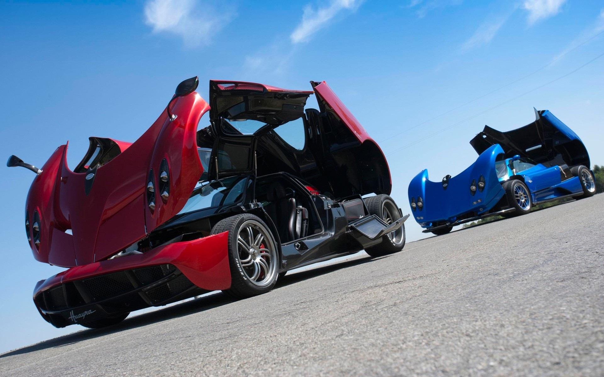 pagani rot und blau supercars 1920x1200 hd hintergrundbilder hd bild. Black Bedroom Furniture Sets. Home Design Ideas