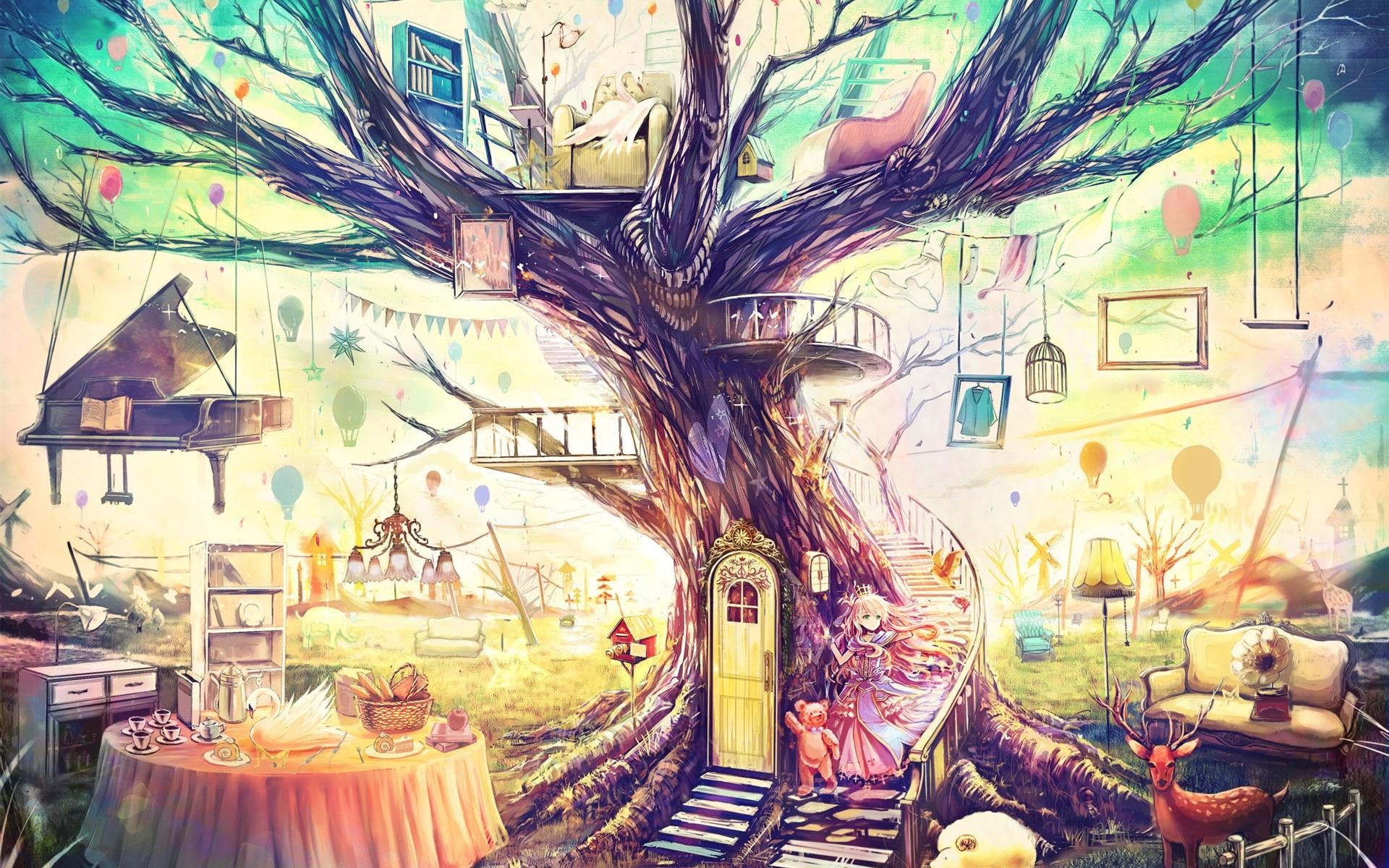 картинки цветные фантазии