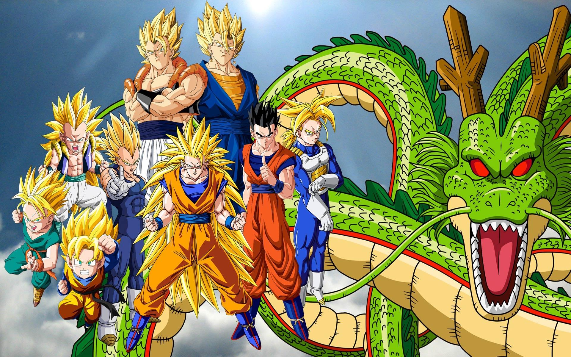 Fonds d'écran Dragon Ball Z, anime écran large 1920x1200 HD image