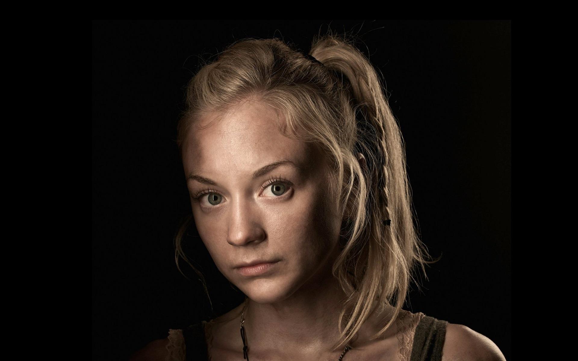 Wallpaper Emily Kinney In The Walking Dead 1920x1200 Hd