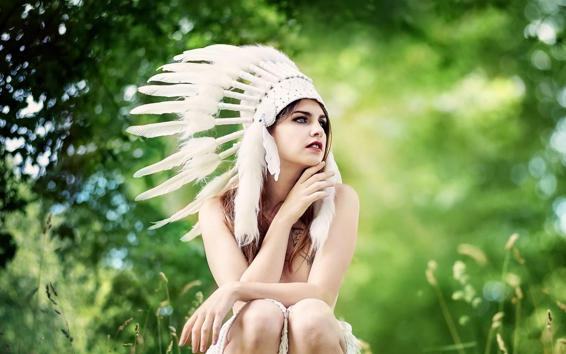 девушка индейцы бесплатно