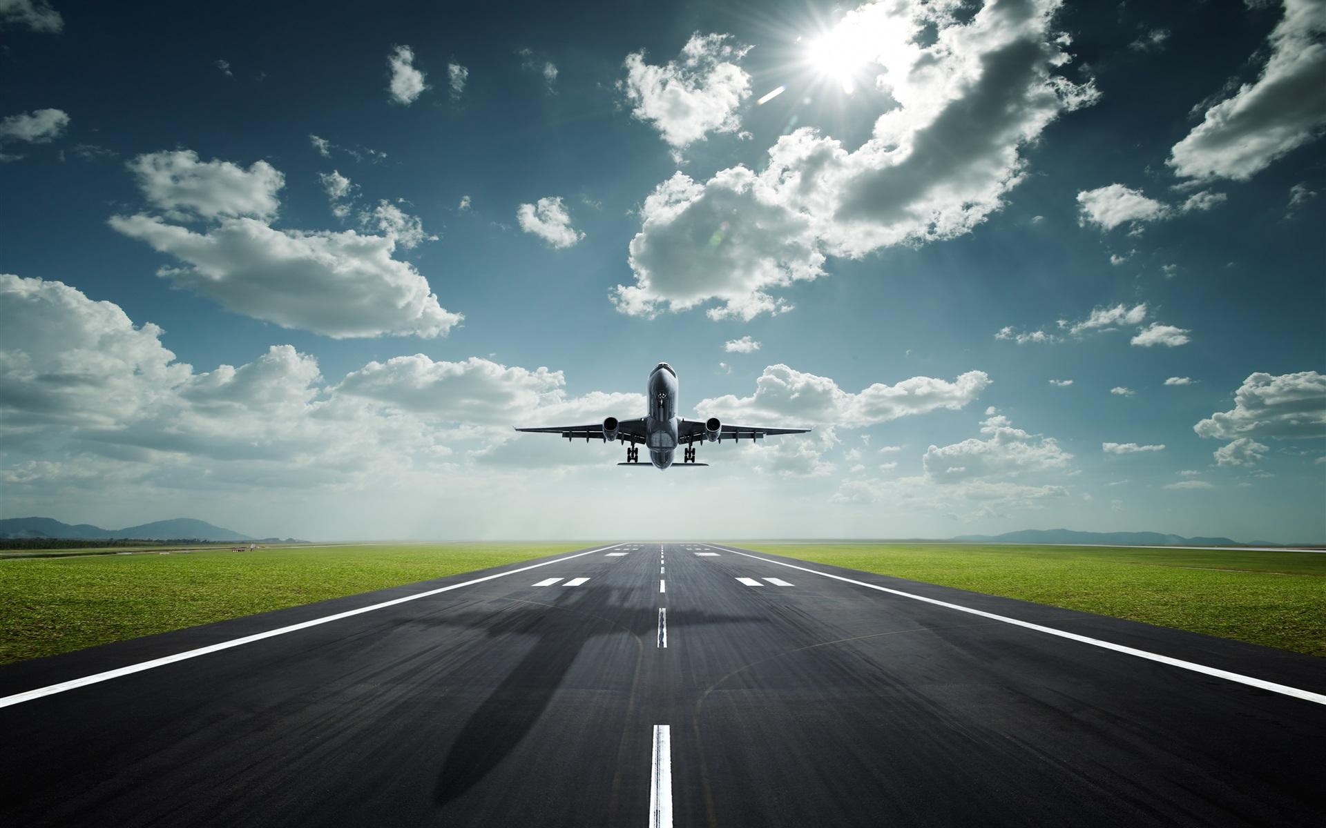 самолет взлет фото внешний вид, отличные