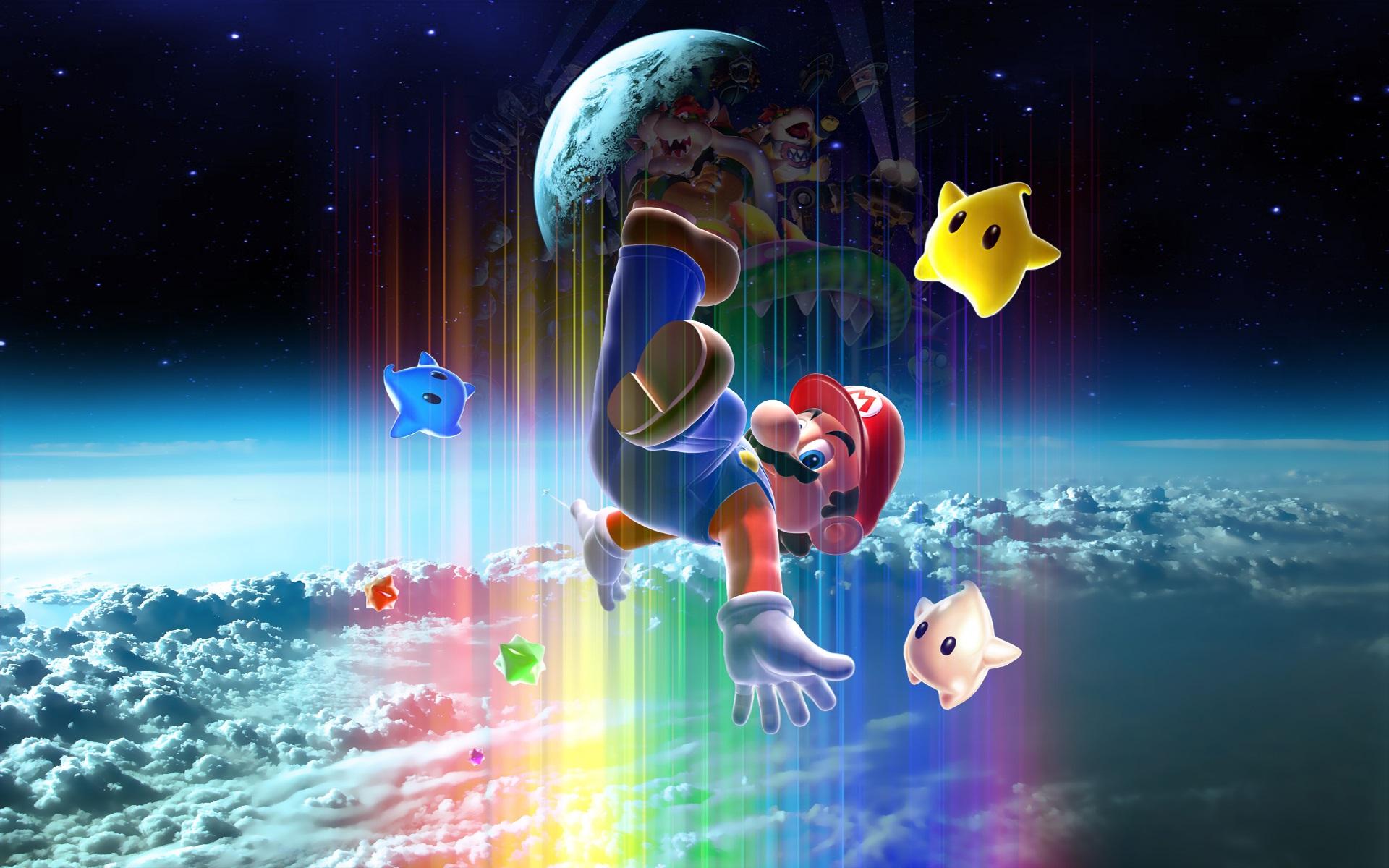 Wallpaper Super Mario Classic Game Nintendo 1920x1200 HD Picture