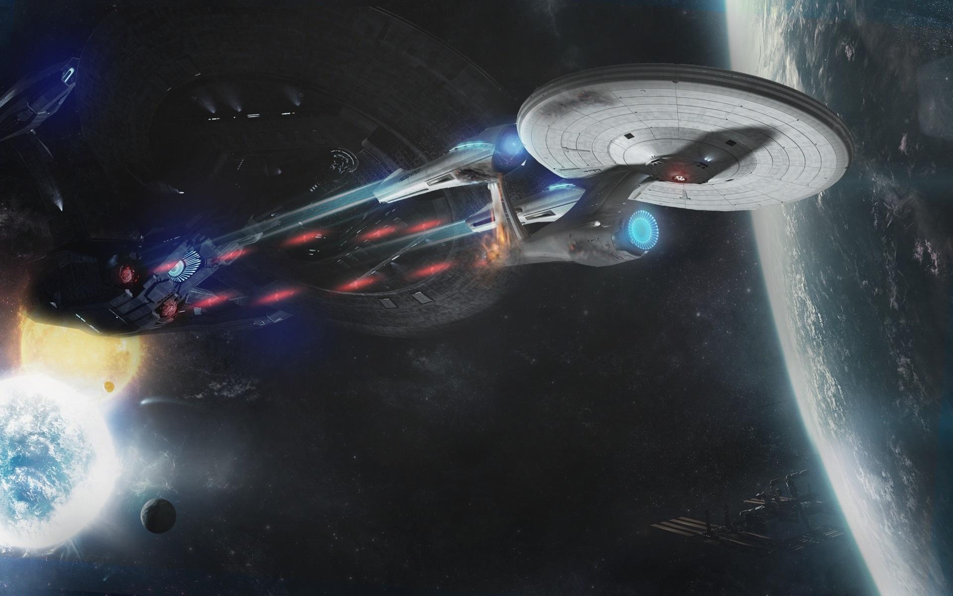 Wallpaper Star Trek Into Darkness Spaceship 1920x1200 Hd Picture