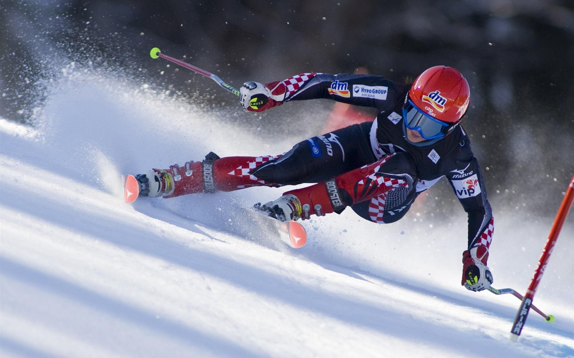 лыжи как вид спорта картинки голубая