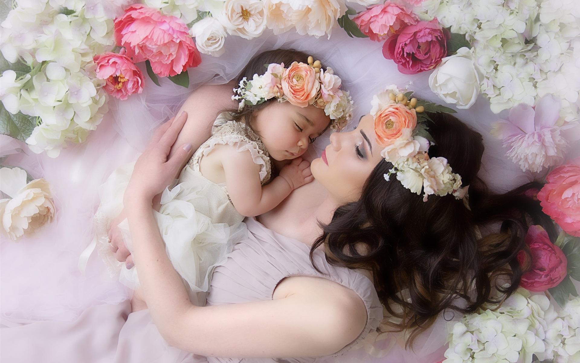 были красивые картинки про дочь и мать этом альбоме