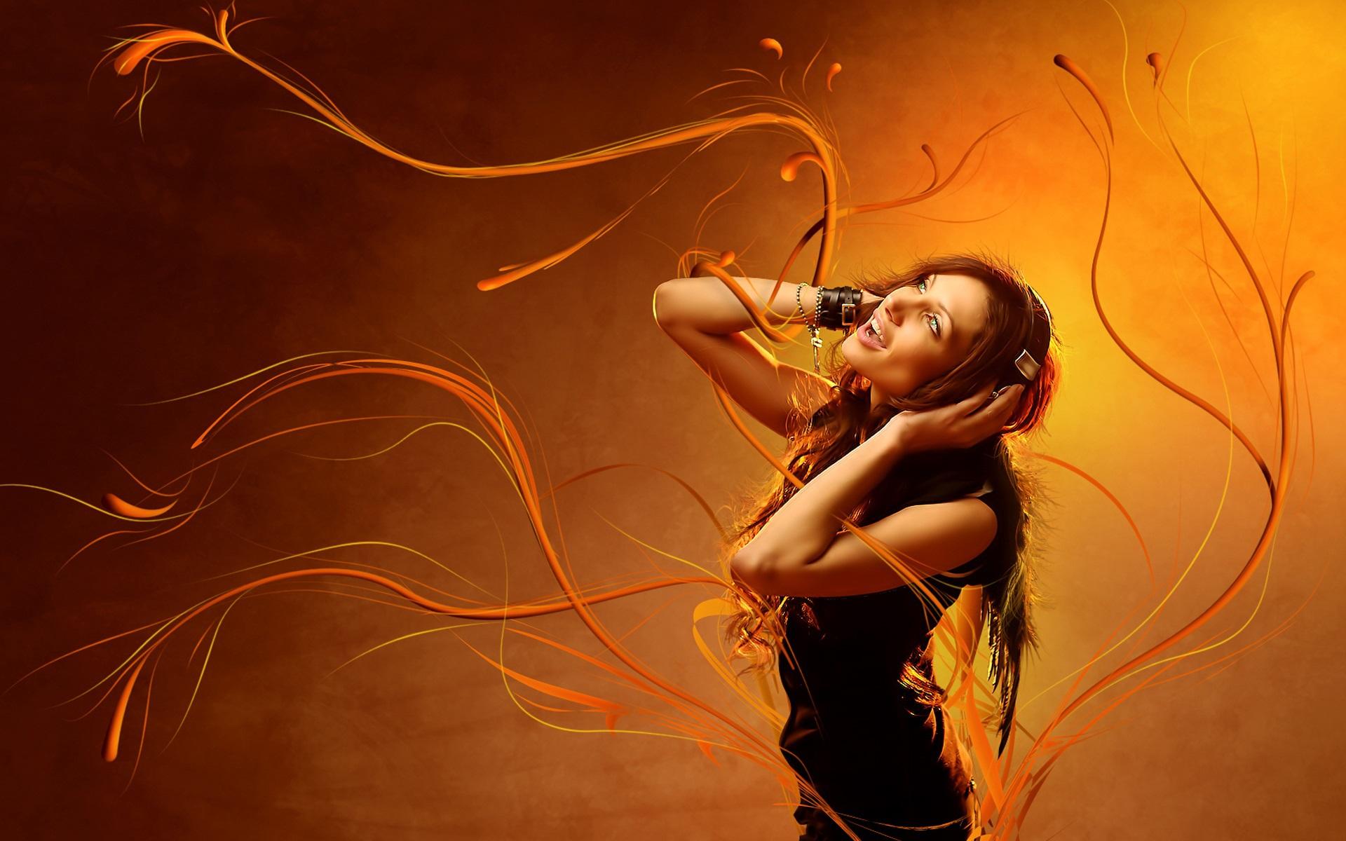 Девушка рыжая танцы без смс