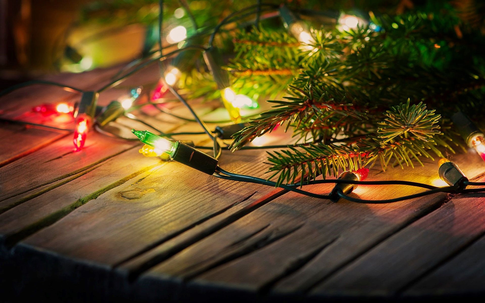 wallpaper holiday lights, decoration 1920x1200 hd picture, image