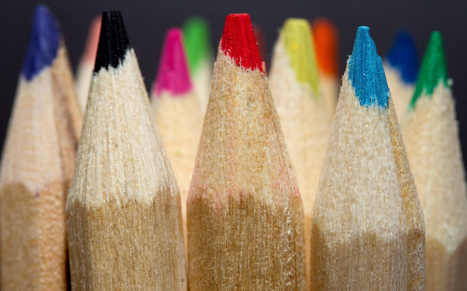 разноцветные карандаши  № 2931979  скачать