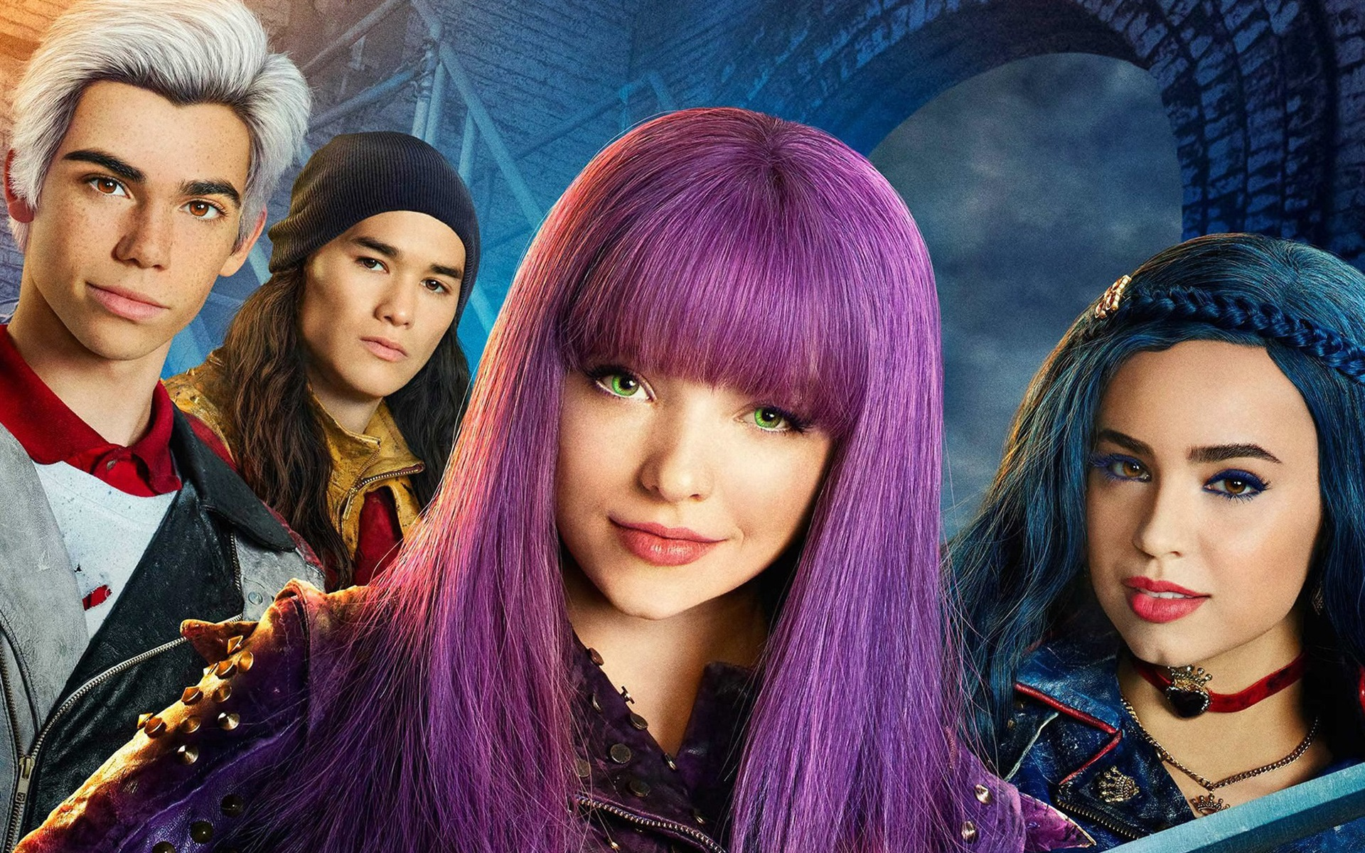 disney's descendants 2 movie - HD 1920×1080