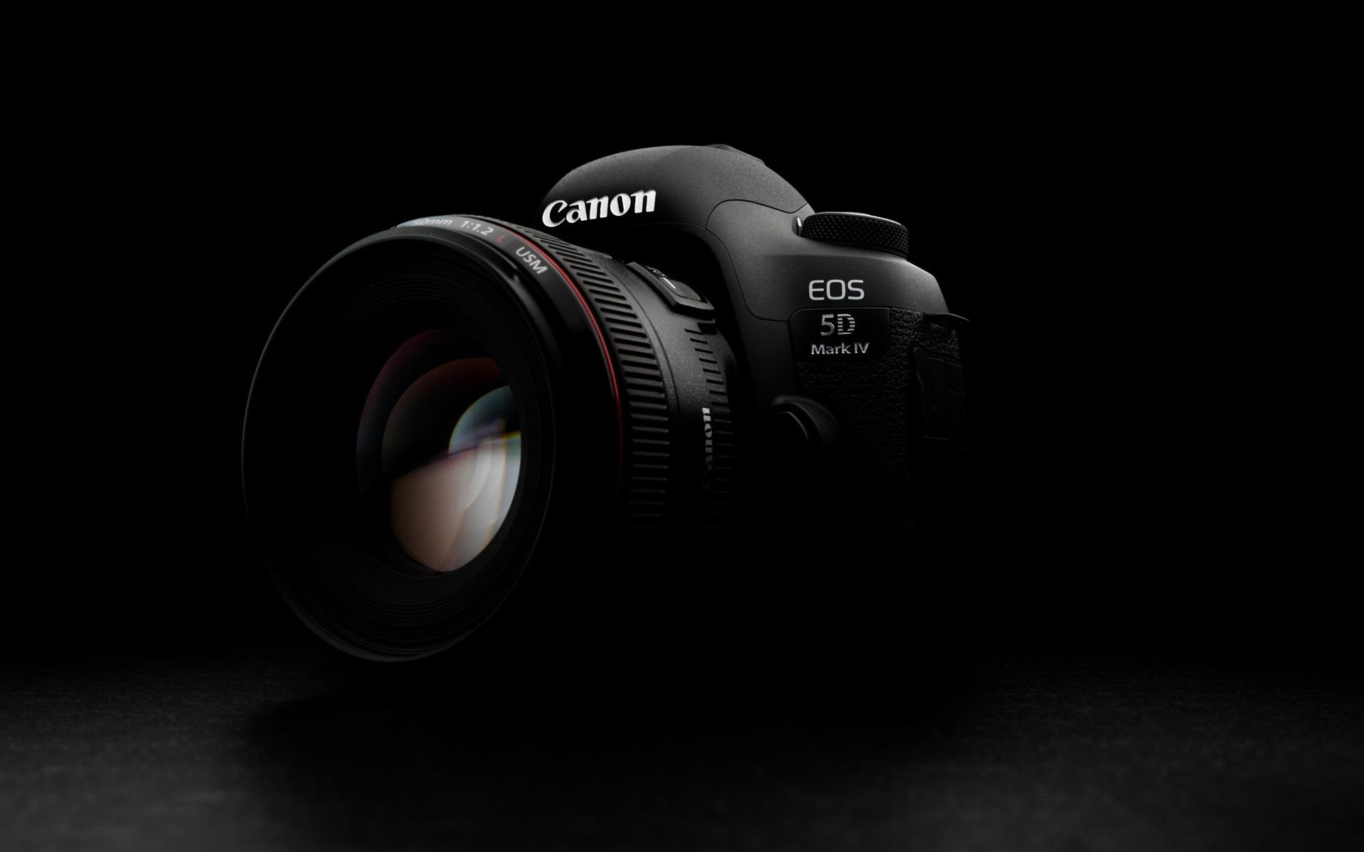 Wallpaper Canon EOS 5D Mark IV Digital Camera 1920x1200 HD Picture