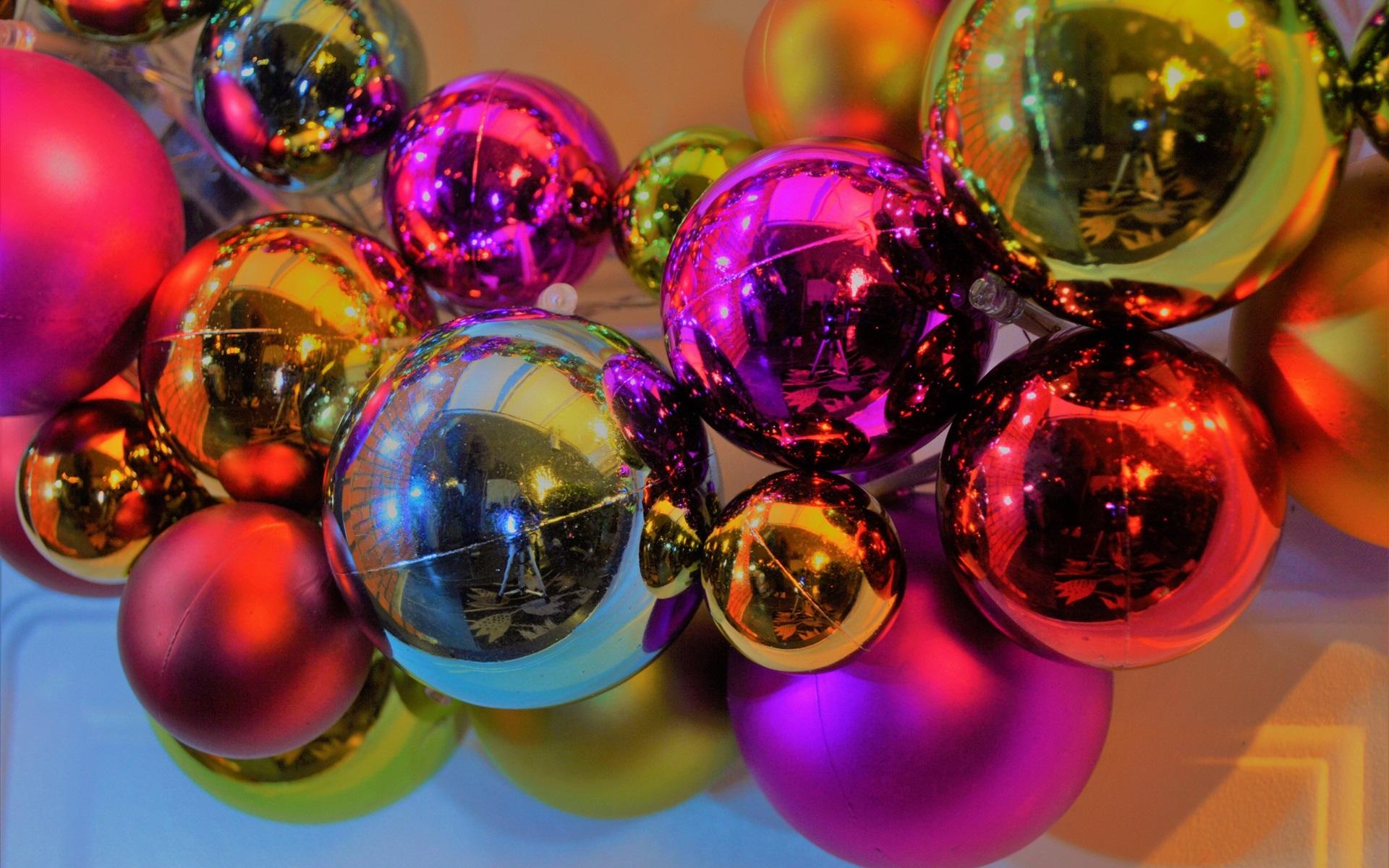 Фотоэффекты шарики на фото