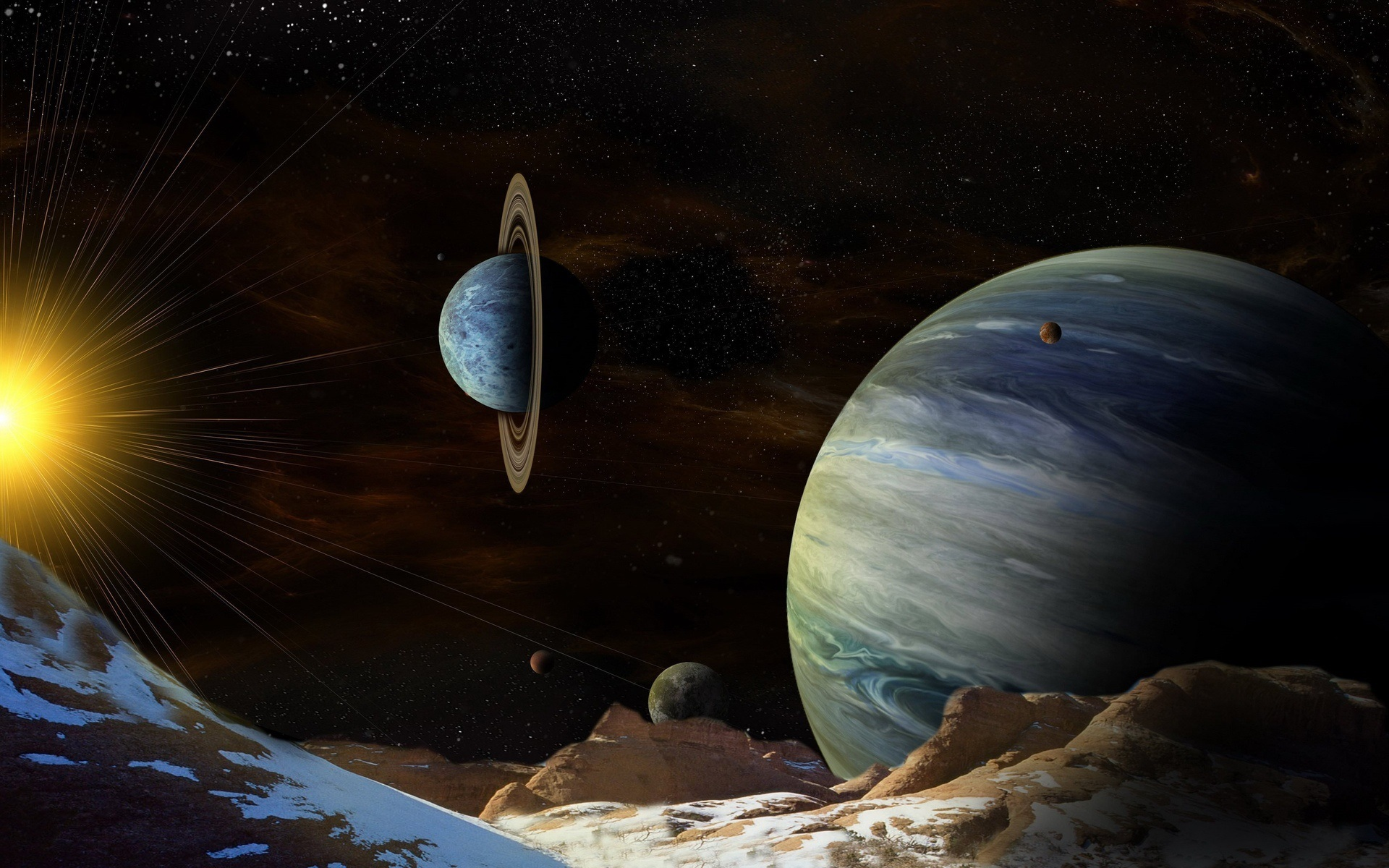 Планеты с космоса картинки