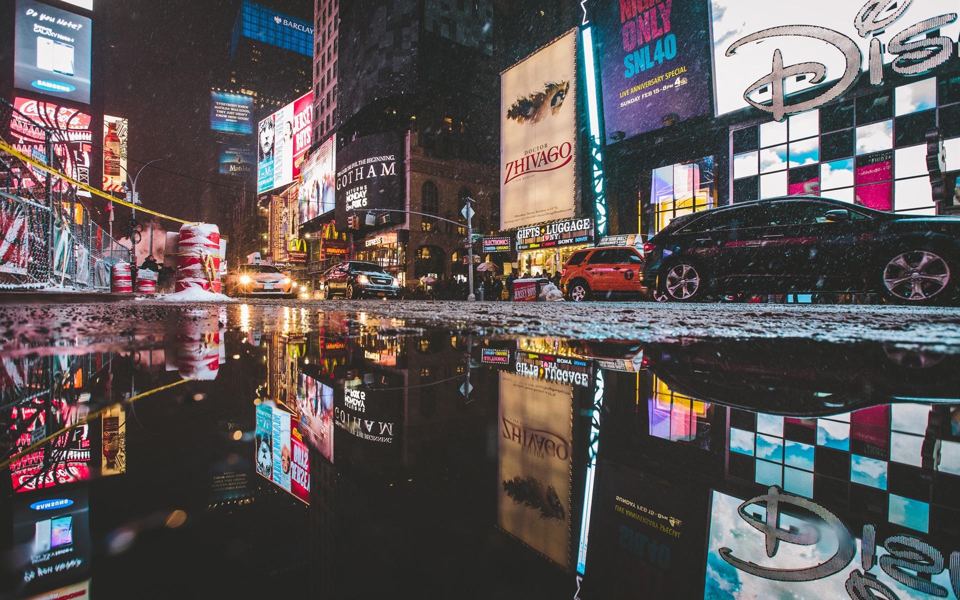 Fondos De Pantalla Times Square Manhattan Nueva York