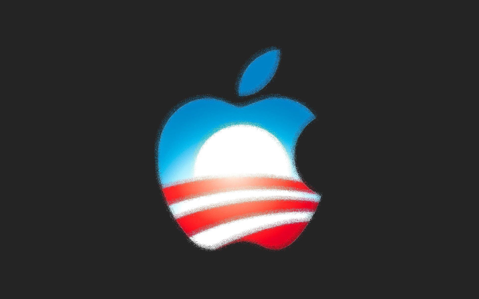 Wallpaper apple colorful logo pixel 1920x1200 hd - Original apple logo wallpaper ...