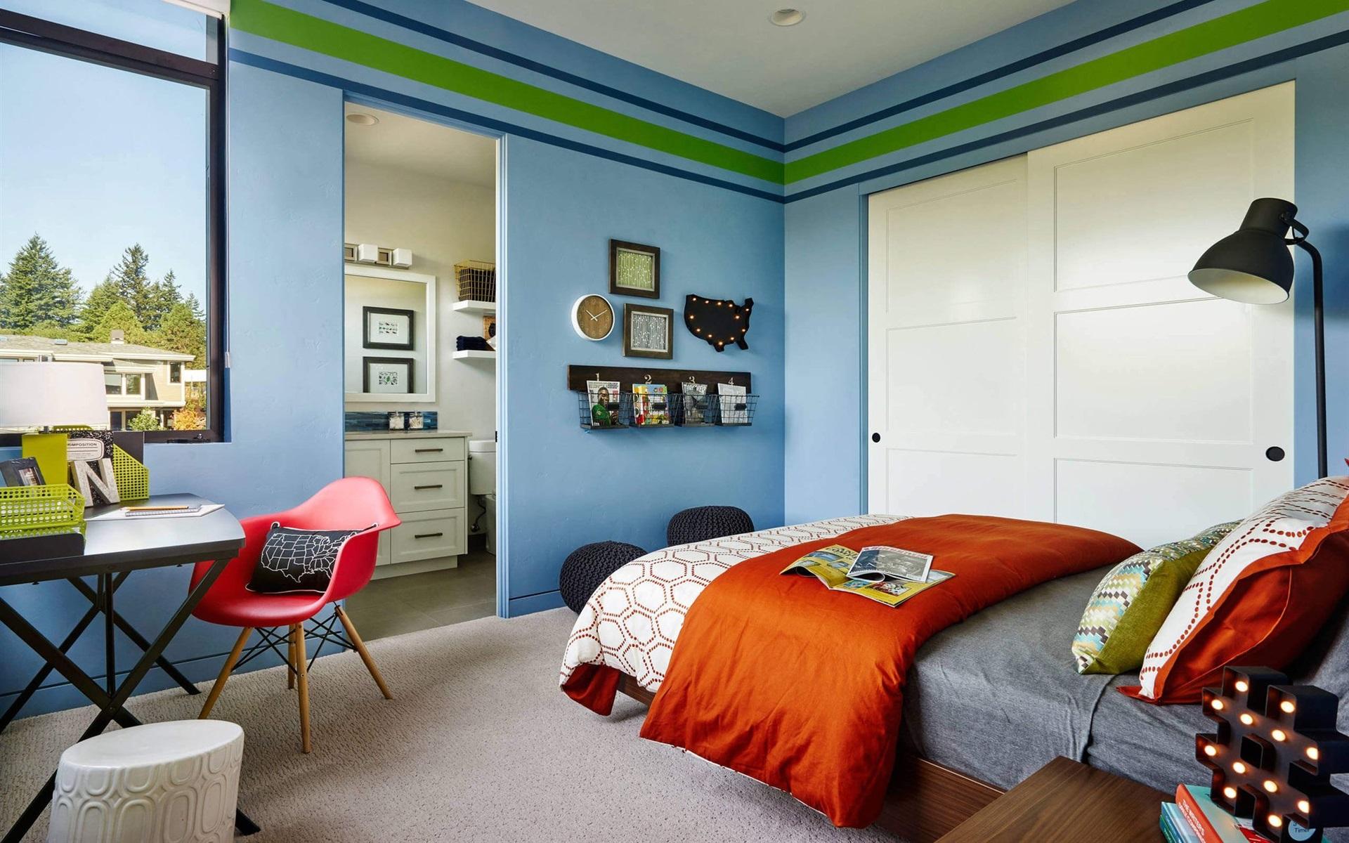 壁紙 ベッドルーム 部屋 ベッド シンプルなスタイル 19x10 Hd 無料のデスクトップの背景 画像
