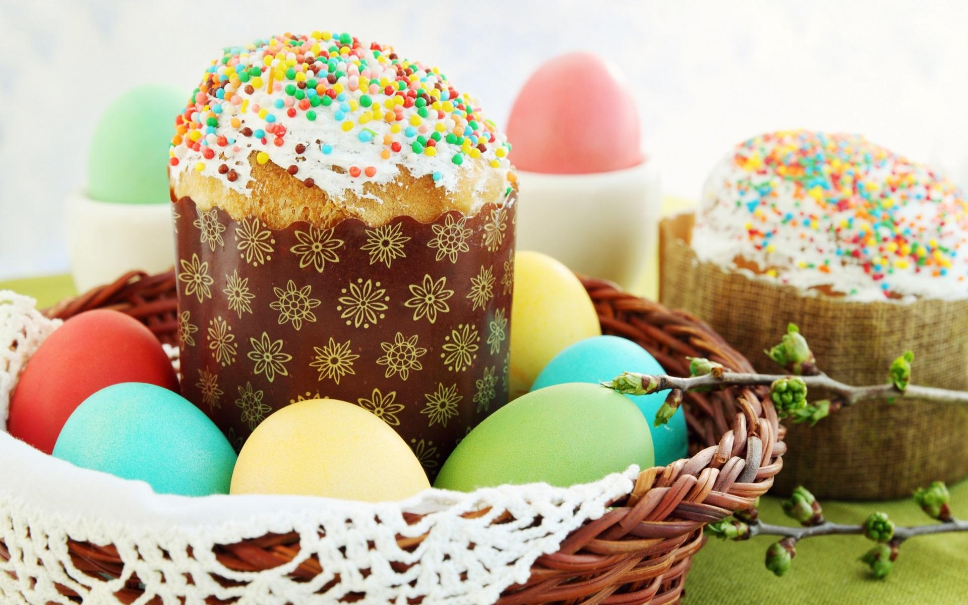 праздник пасха кулич яйца  № 2646787 без смс