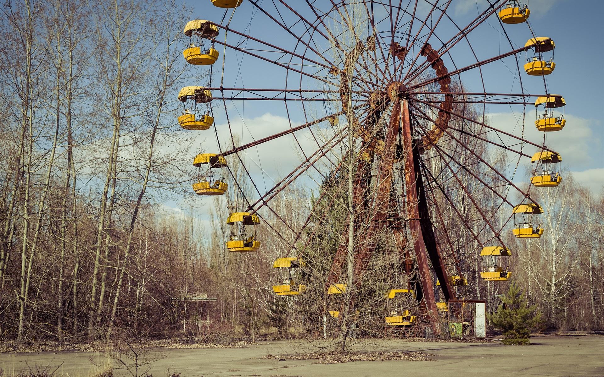 壁紙 チェルノブイリ 失われた場所 観覧車 1920x1200 Hd 無料の