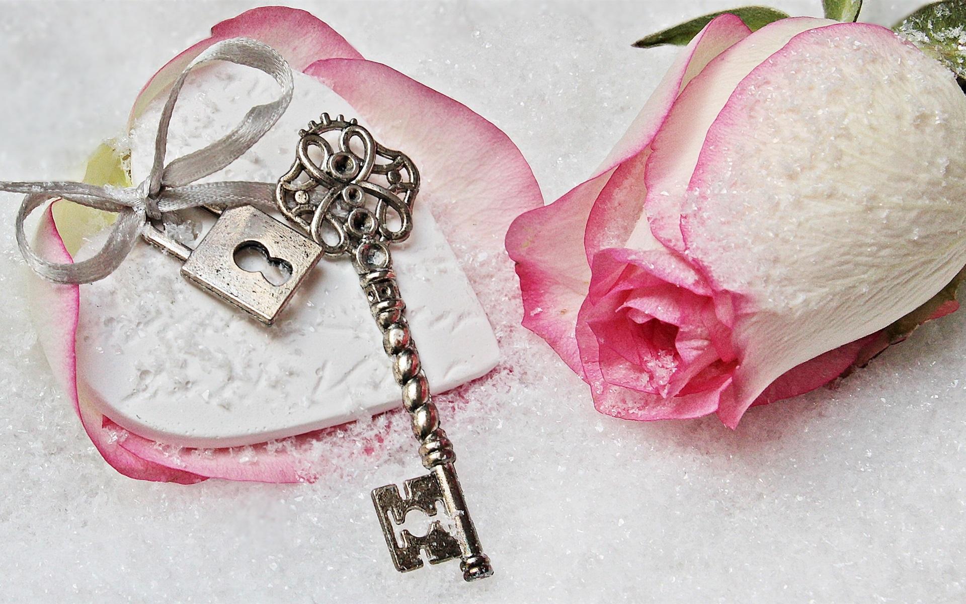 Картинки розовых ключей