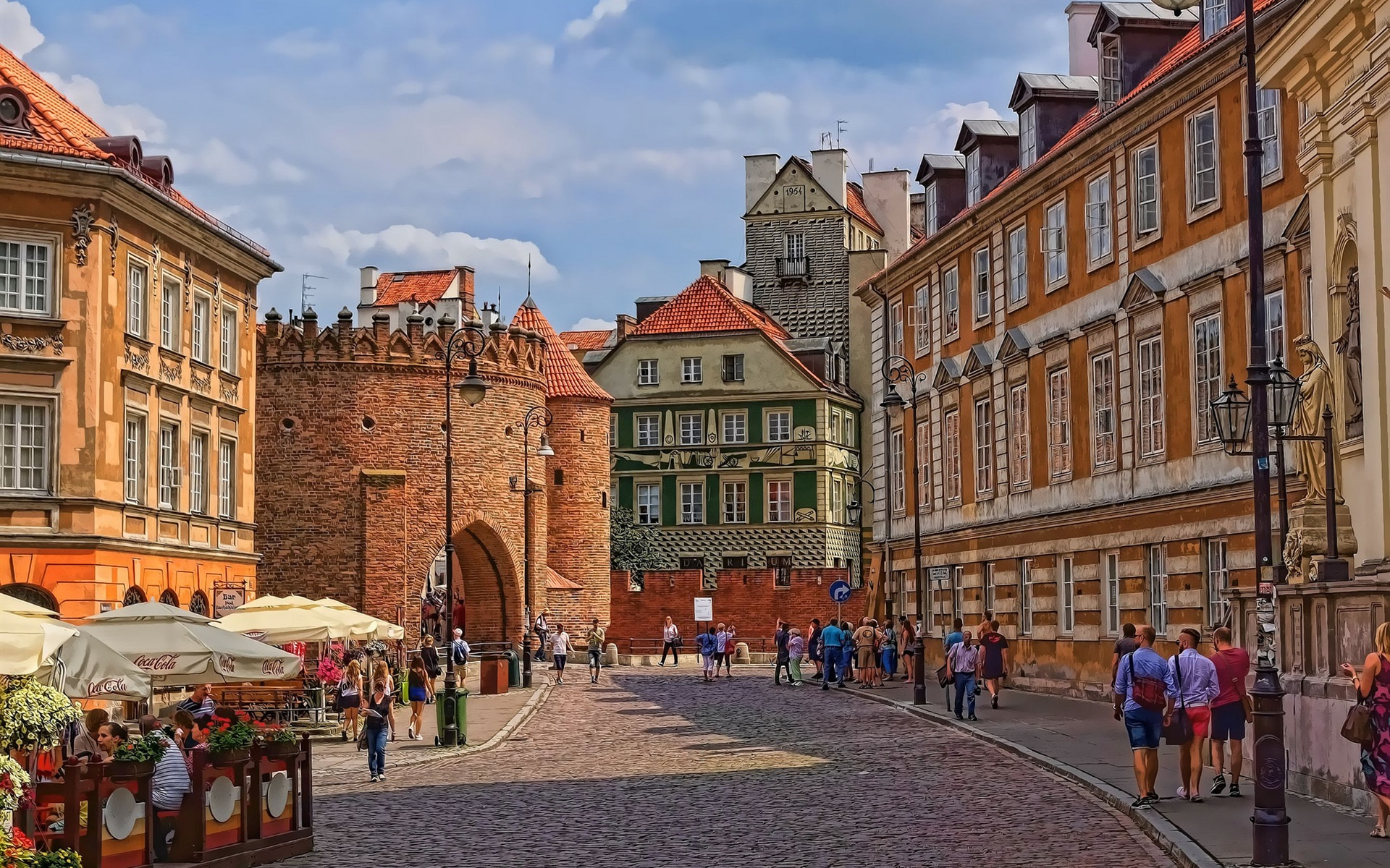 Обои старый город, дома, old city, улица, town, Old street. Города foto 7
