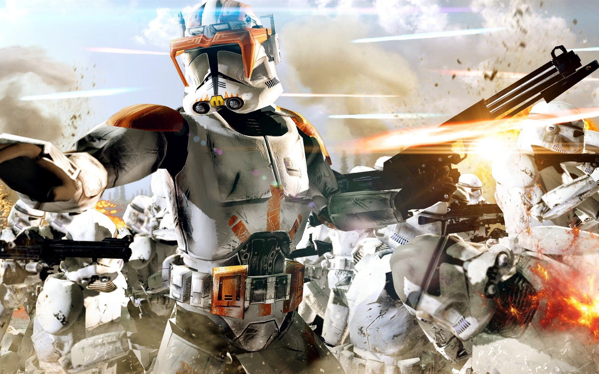 Wallpaper Star Wars The Clone Wars 1920x1200 Hd Picture Image