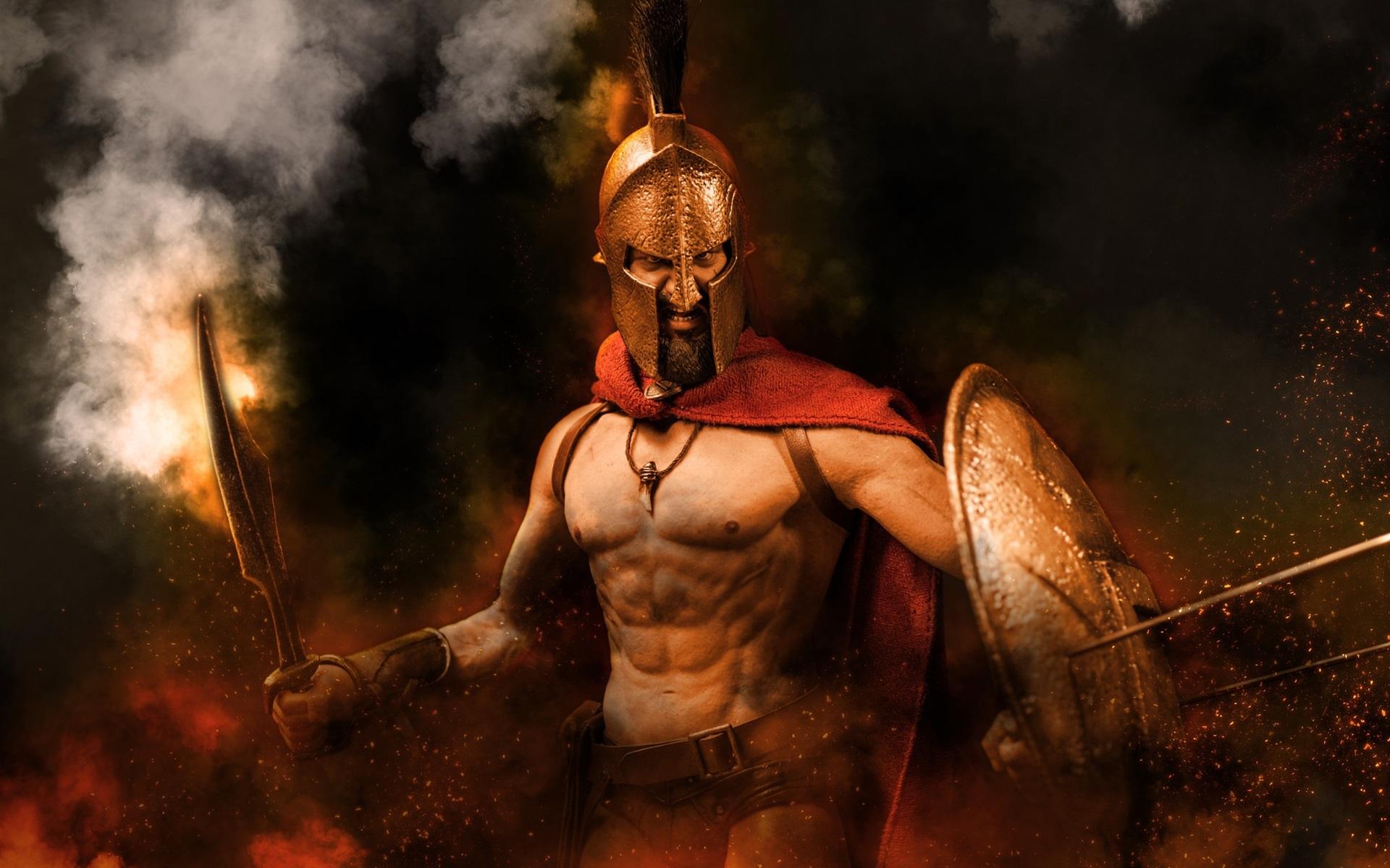 воины спартанцы фото перемешать все вымесить