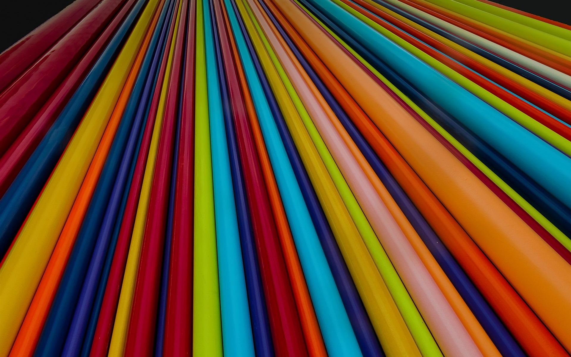Fondos De Pantalla Líneas De Colores, Diseño Abstracto
