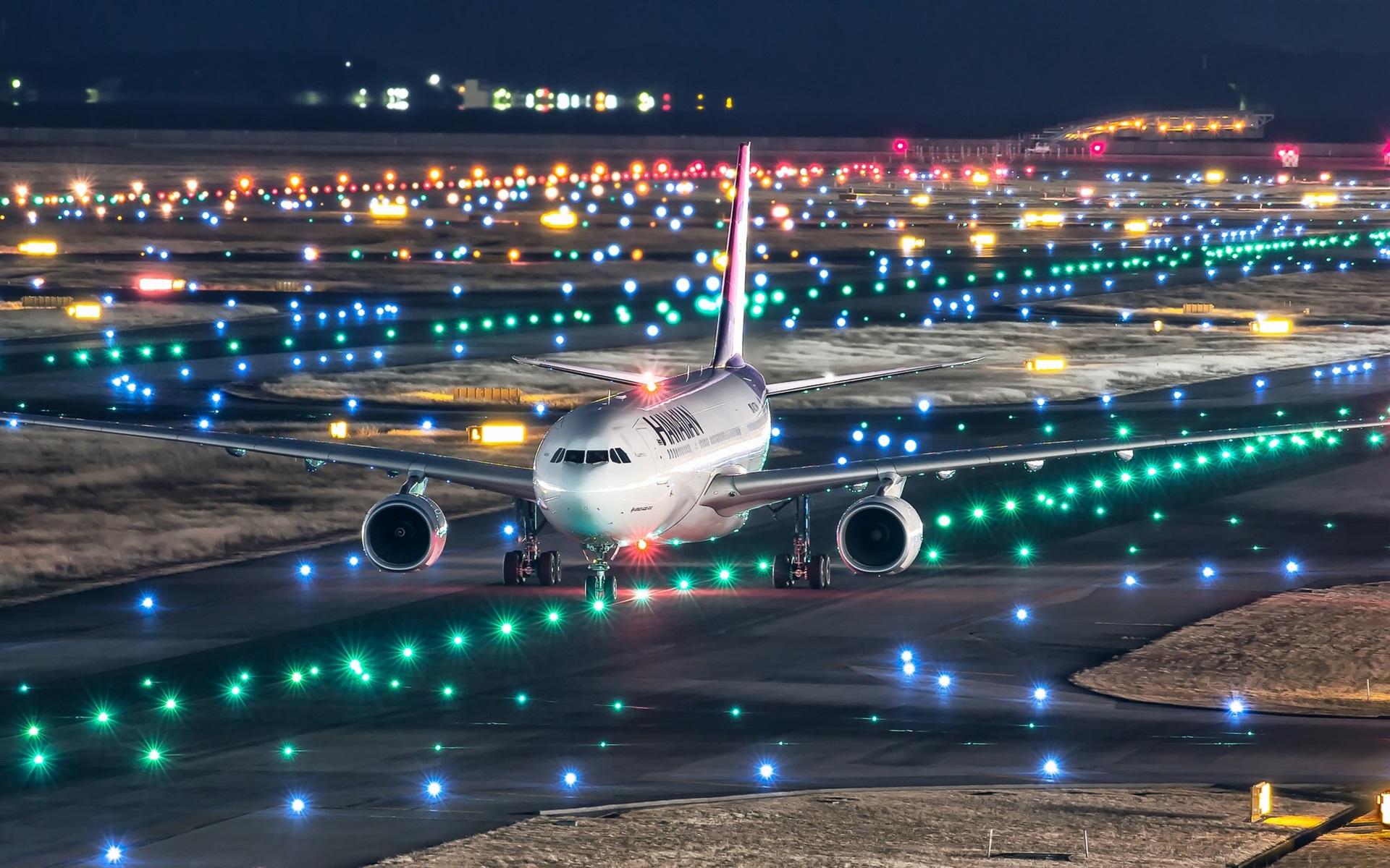 Картинки аэропорт ночью