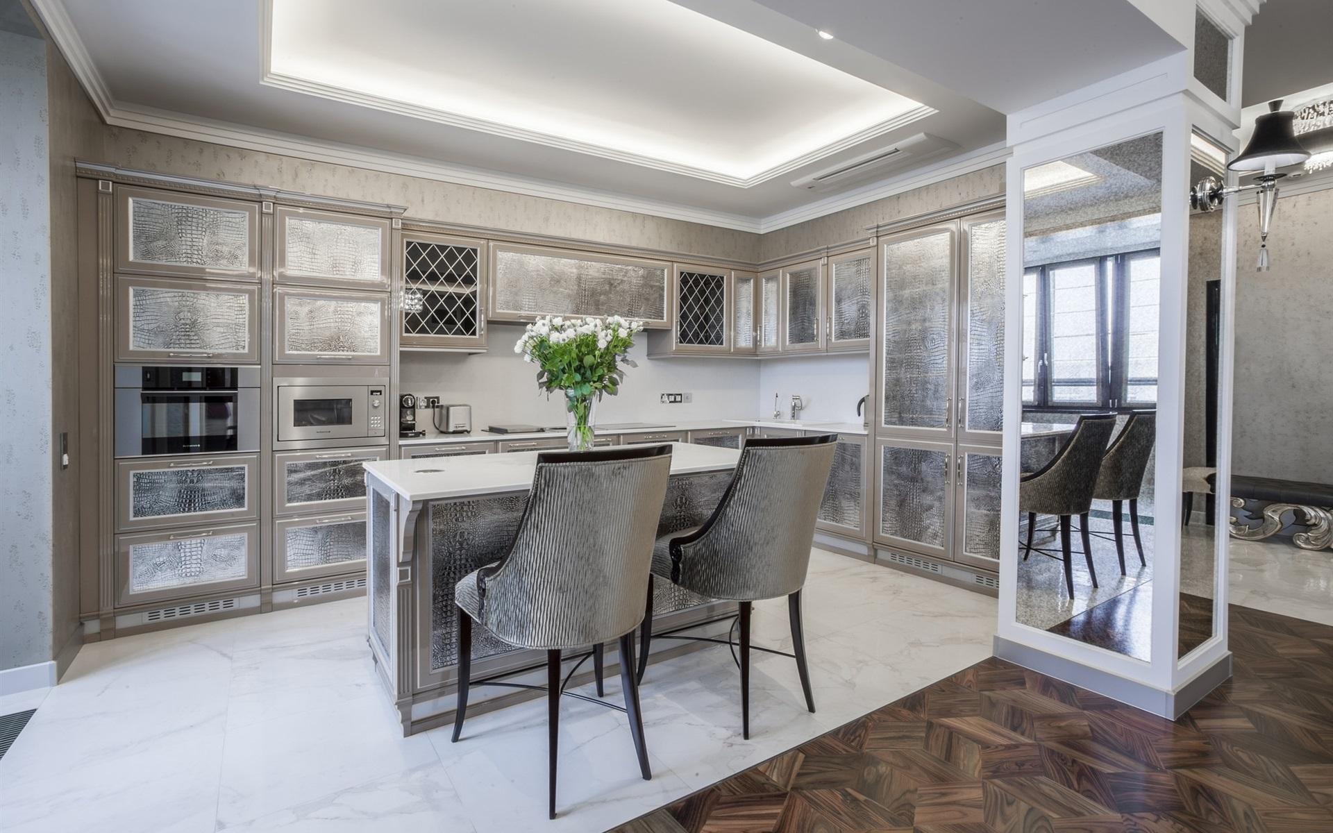 Küche, Interieur, einfachen Stil 1920x1200 HD Hintergrundbilder, HD ...
