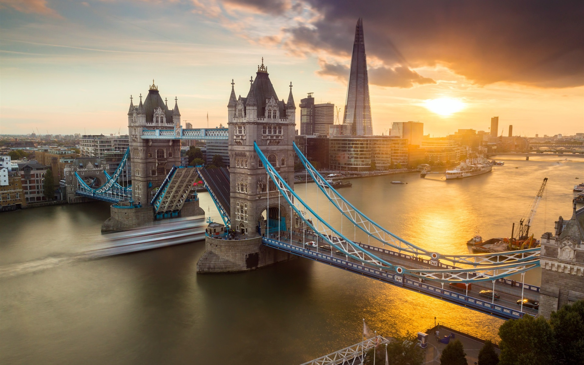 Обои london, Sunset. Города foto 17