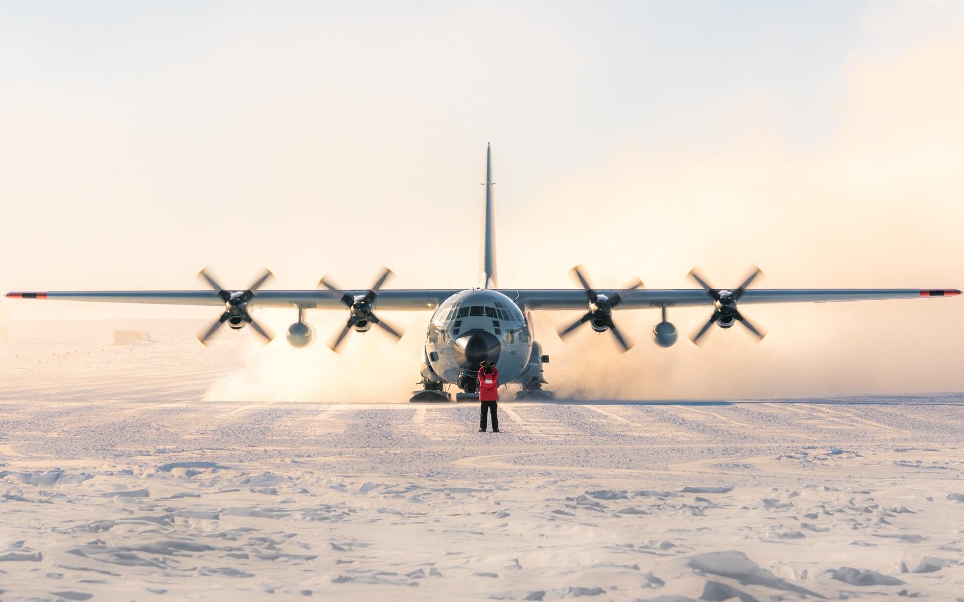 Обои Lockheed, c-130, hercules, Геркулес, c-130, локхид. Авиация foto 11