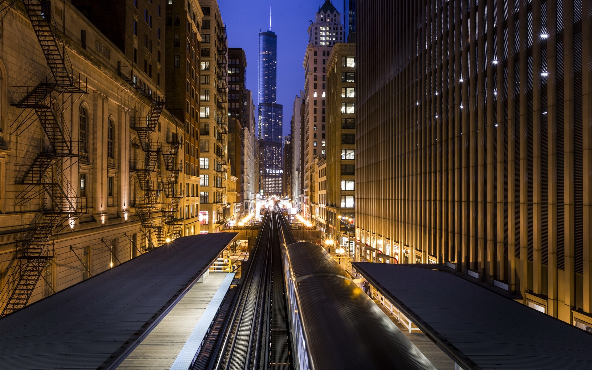 Must see Wallpaper Night Chicago - USA-Chicago-city-buildings-metro-night-lights_1920x1200  Image.jpg