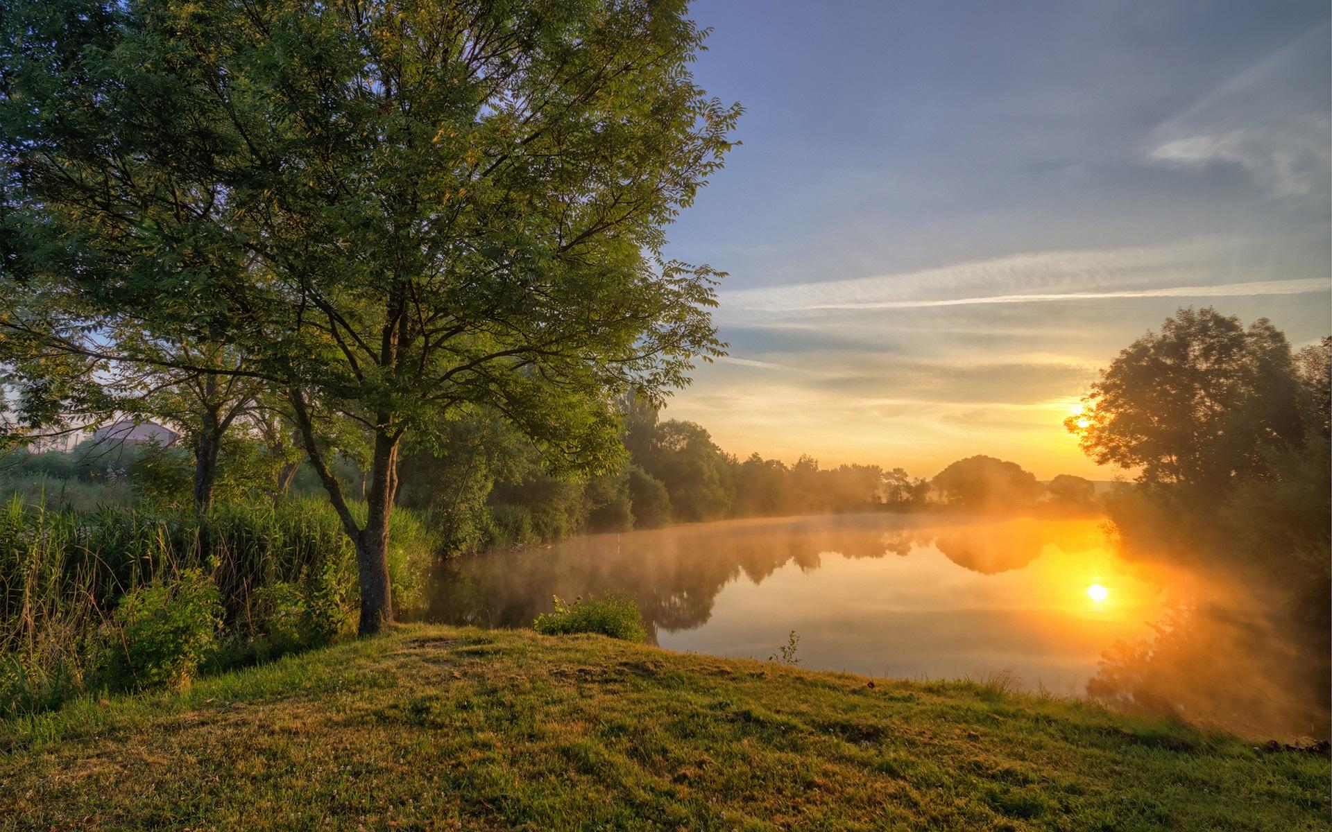 красивые картинки лето солнце река они появляются