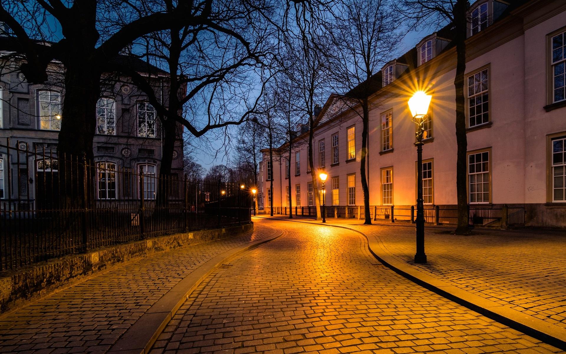 Картинка ночью на улице