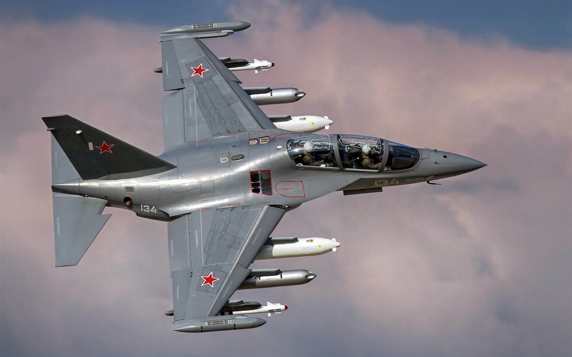 Wallpaper Russian Air Force Yak 130 Fighter 1920x1200 HD Picture Image