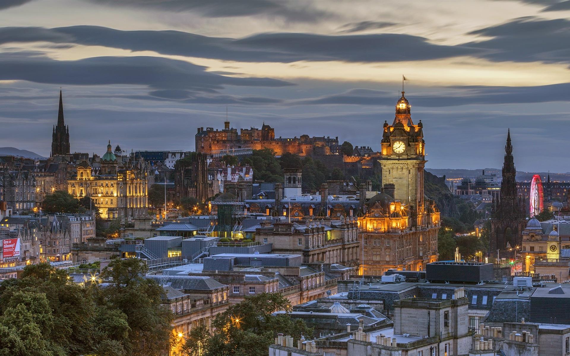 Обои Шотландия, эдинбург, маяк. Пейзажи foto 7