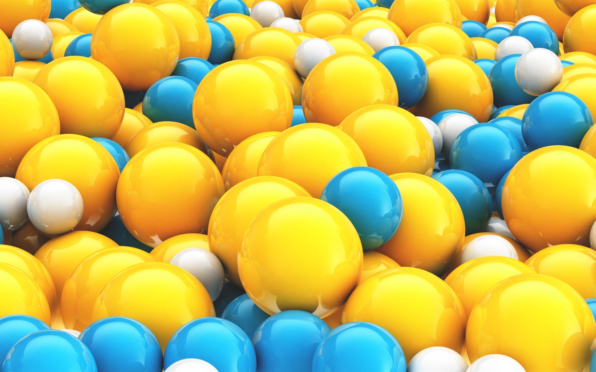 Картинки на рабочий стол желтые и синие