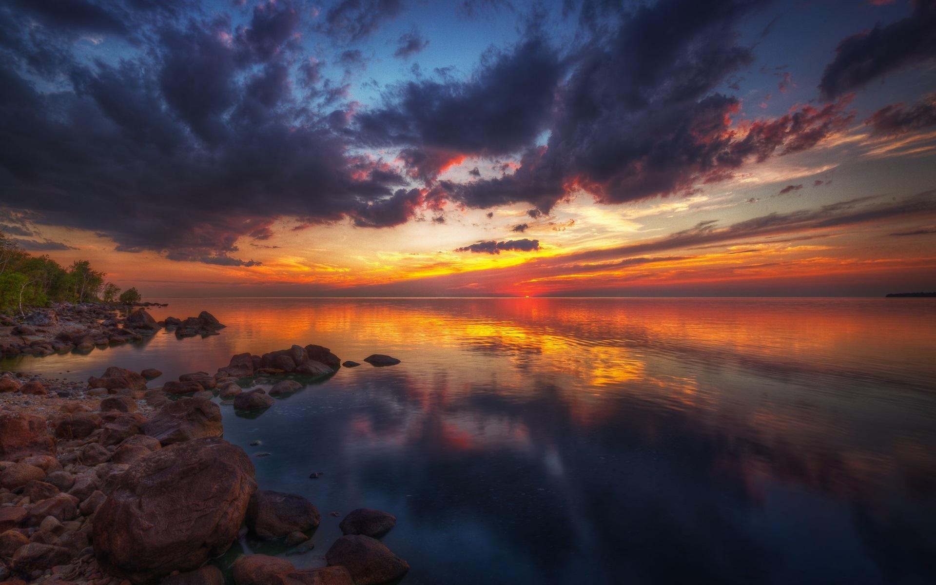 красивейшие закаты фото подборка, наш