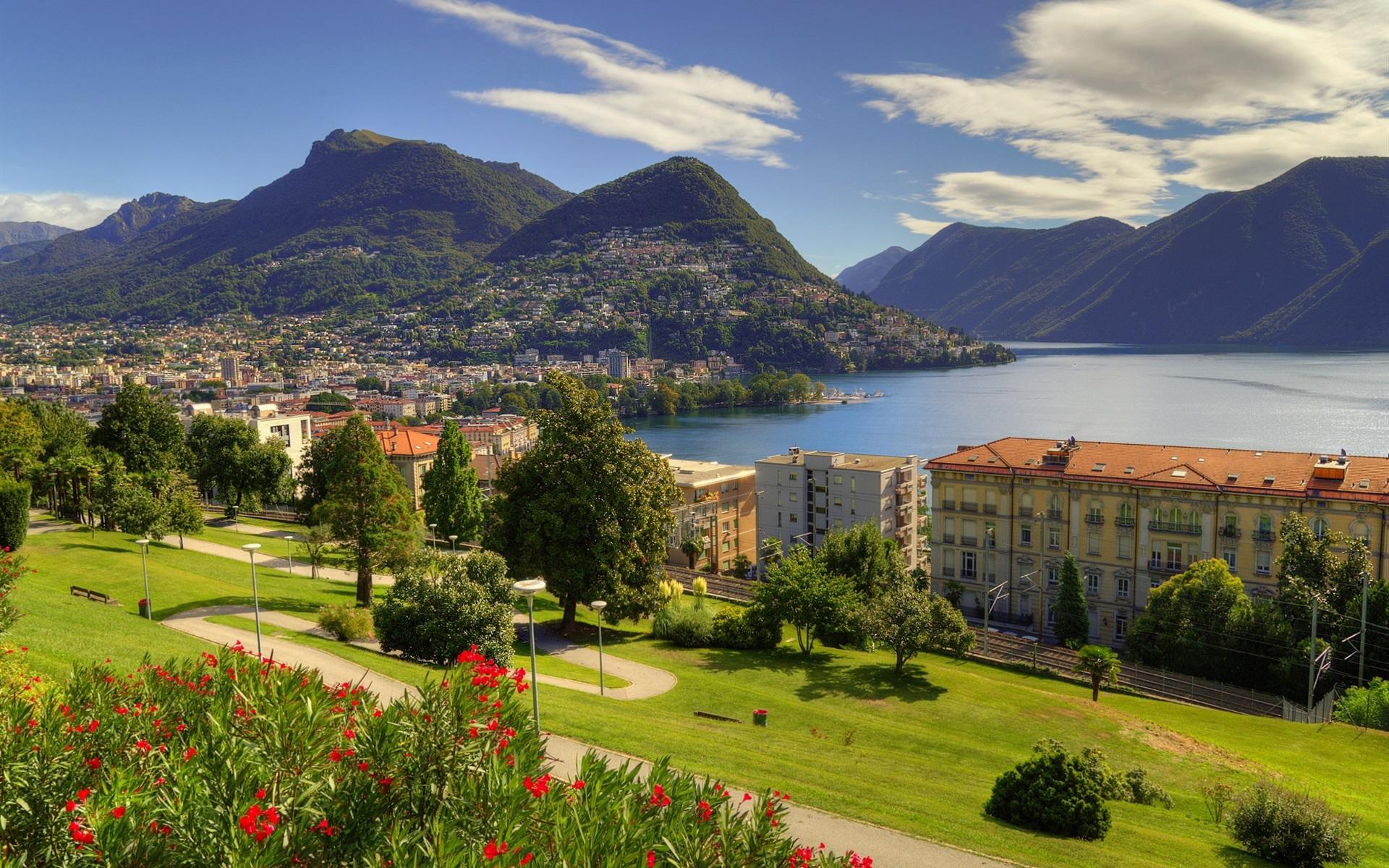 Город и озеро в Швейцарии сканворд фото